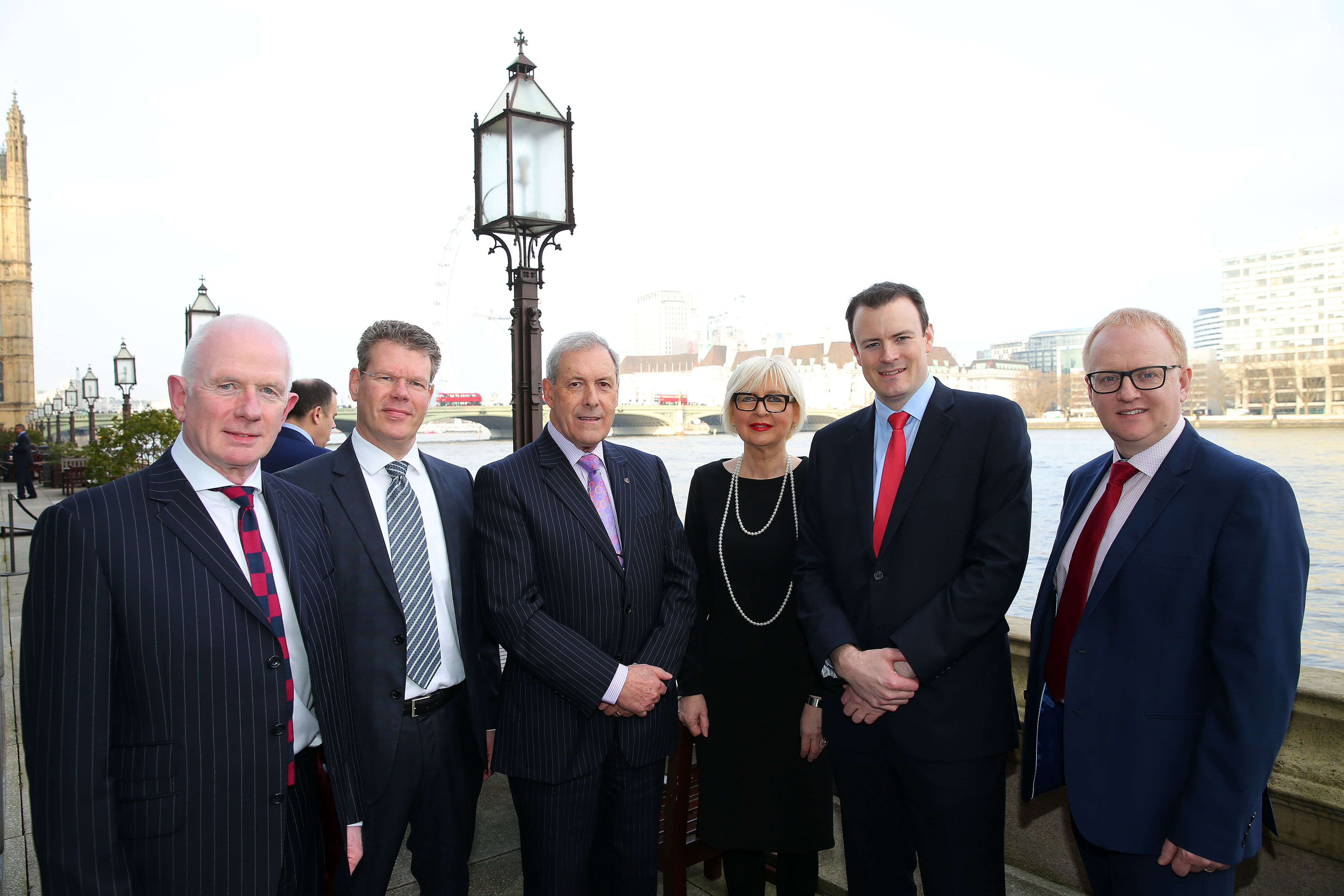 Andrew Ingredients and guests attending the Lisburn Castlereagh at Westminster event