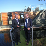 news image Bluefield houseboats - Making waves in alternative property